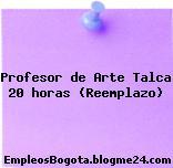 Profesor de Arte Talca 20 horas (Reemplazo)