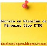 Técnico en Atención de Párvulos Stgo CTRO