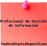 Profesional de Gestión de Información