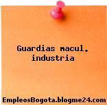 Guardias macul. industria