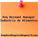 Key Account Manager / Industria de Alimentos