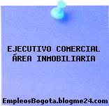 EJECUTIVO COMERCIAL ÁREA INMOBILIARIA
