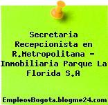 Secretaria Recepcionista en R.Metropolitana – Inmobiliaria Parque La Florida S.A