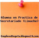 Alumna en Practica de Secretariado (Limache)