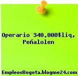 Operario 340.000$liq, Peñalolen