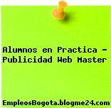 Alumnos en Practica Publicidad Web Master