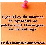 Ejecutivo de cuentas de agencias de publicidad (Encargado de Marketing)