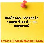Analista Contable (experiencia en Seguros)