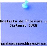 Analista de Procesos y Sistemas SURA