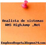 Analista de sistemas WMS HighJump .Net