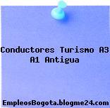 Conductores Turismo A3 A1 Antigua