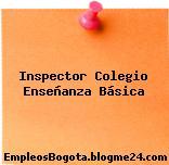 Inspector Colegio Enseñanza Básica