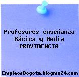 Profesores enseñanza Básica y Media PROVIDENCIA