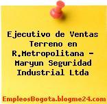 Ejecutivo de Ventas Terreno en R.Metropolitana – Maryun Seguridad Industrial Ltda