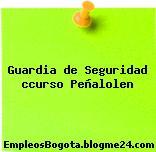 Guardia de Seguridad ccurso Peñalolen