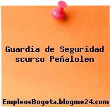 Guardia de Seguridad scurso Peñalolen