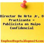 Director De Arte Jr. O Practicante – Publicista en Maipo Confidencial