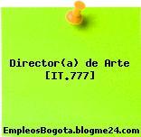 Director(a) de Arte [IT.777]