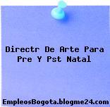 Directr De Arte Para Pre Y Pst Natal
