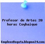 Profesor de Artes 20 horas Coyhaique