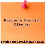 Asistente Atención Clientes