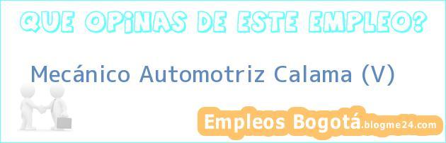 Mecánico Automotriz Calama (V)