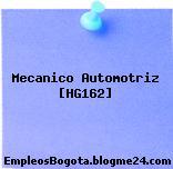 Mecanico Automotriz [HG162]