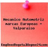 Mecanico Automotriz marcas Europeas – Valparaiso