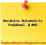 Mecánico Automotriz Pudahuel JL405