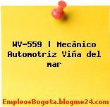 WV-559 | Mecánico Automotriz Viña del mar