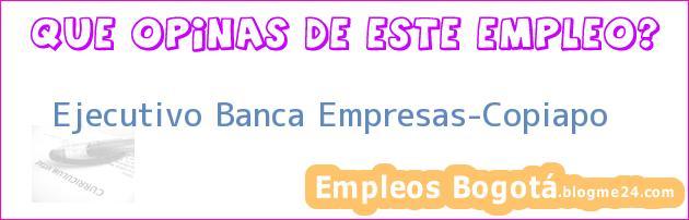 Ejecutivo Banca Empresas-Copiapo