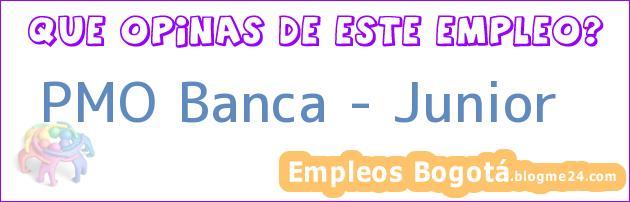 PMO Banca – Junior