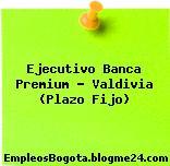 Ejecutivo Banca Premium – Valdivia (Plazo Fijo)