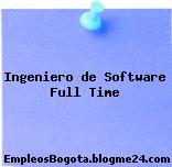 Ingeniero de Software Full Time