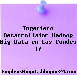 Ingeniero Desarrollador Hadoop Big Data en Las Condes TY