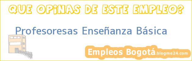 Profesoresas Enseñanza Básica