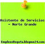 Asistente de Servicios – Norte Grande