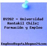 BV262 – Universidad Rentokil Chile: Formación y Empleo