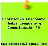 Profesor/a Enseñanza Media Lenguaje y Comunicación PO