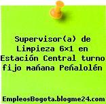 Supervisor(a) de Limpieza 6×1 en Estación Central turno fijo mañana Peñalolén