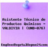 Asistente Técnico de Productos Químicos – VALDIVIA | (UNB-076)
