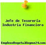 Jefe de Tesorería Industria Financiera