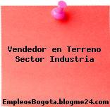Vendedor en Terreno Sector Industria