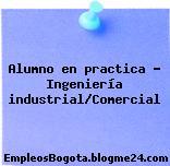 Alumno en practica – Ingeniería industrial/Comercial