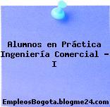 Alumnos en Práctica Ingeniería Comercial – I