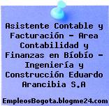 Asistente Contable y Facturación – Area Contabilidad y Finanzas en Bíobío – Ingeniería y Construcción Eduardo Arancibia S.A