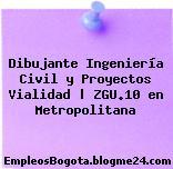 Dibujante Ingeniería Civil y Proyectos Vialidad | ZGU.10 en Metropolitana