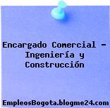 Encargado Comercial – Ingeniería y Construcción