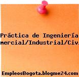 Práctica de Ingeniería Comercial/Industrial/Civil