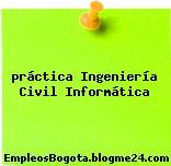 Práctica Ingeniería Civil Informática